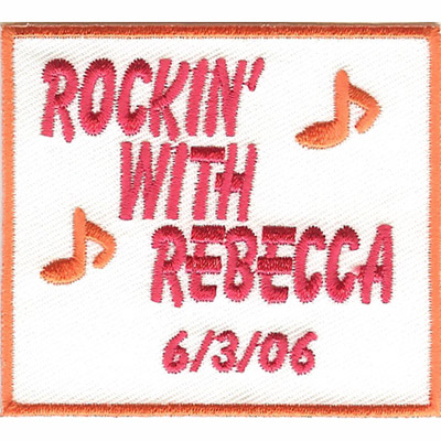 Rockin with Rebecca Patch
