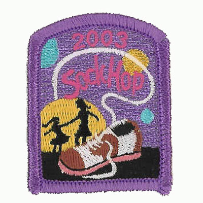 Sock Hop Patch