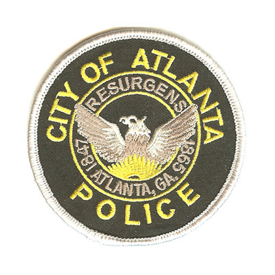 Atlanta Police Patch