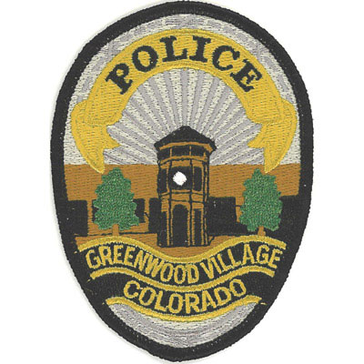 Greenwood Village Colorado Police Patch