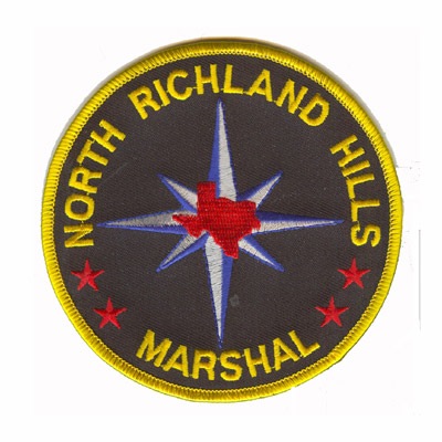 North Richland Hills Marshal Patch