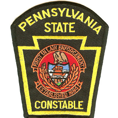 Pennsylvania State Constables Patch