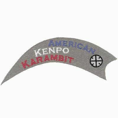 American Kenpo Karambit Patch