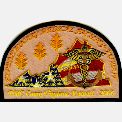 Expeditionary Medical Facility Patch