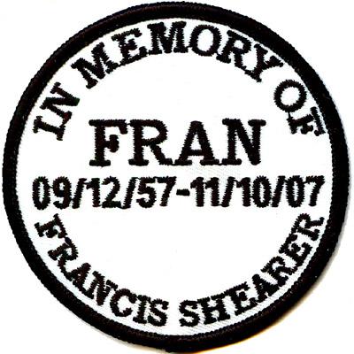 Circular Memorial Patch