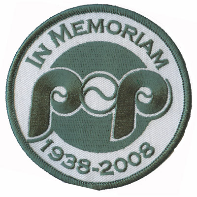 Pop Memorial Patch