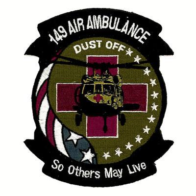 149 Air Ambulance Patch