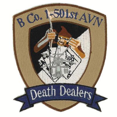 B Co 1-501st AVN Patch
