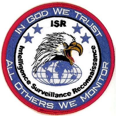 Intelligence Surveillance Reconnaissance Patch