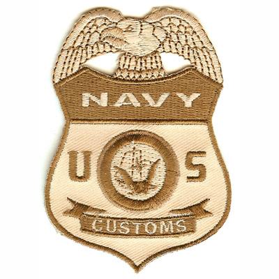Navy Customs Patch