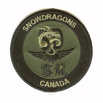 Snowdragons Canada Patch