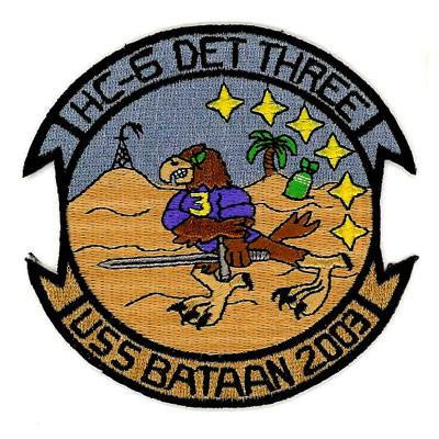 USS Bataan 2003 Patch