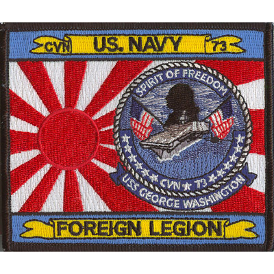 USS George Washington Patch
