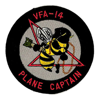 VFA-14 Plane Captain Patch
