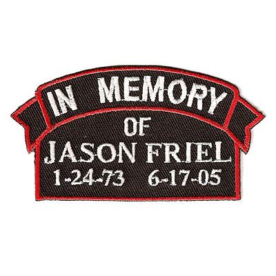 Jason Friel Patch