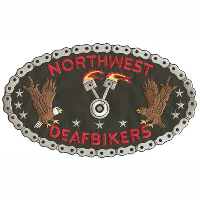 Northwest Deafbikers Patch