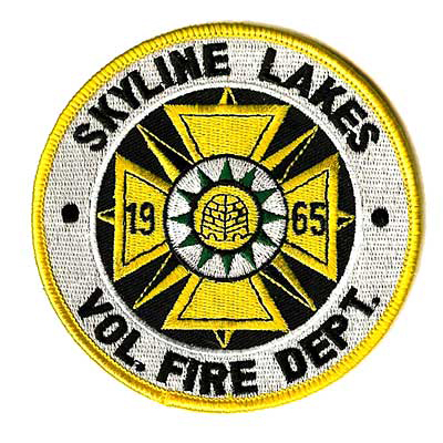 Skyline Lakes Vol Fire Dept Patch