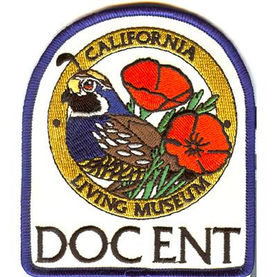 California Living Museum Patch