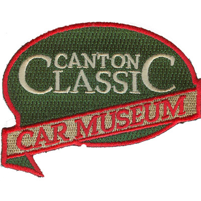 Canton Classic Car Museum Patch