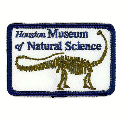 Houston Museum of Natural Science Patch