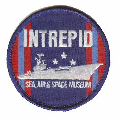 Intrepid Sea Air Space Museum Patch