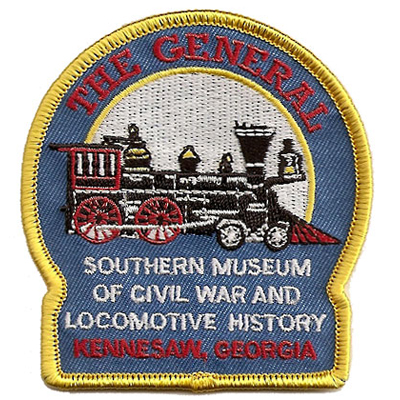 Southern Museum of Civil War and Locomotive History Patch