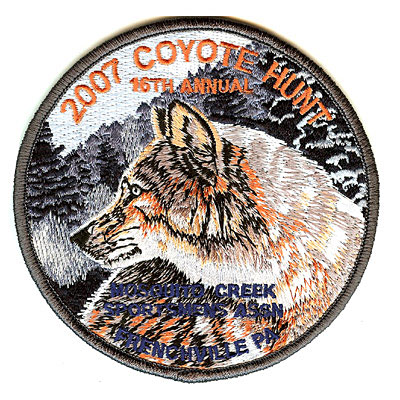 2007 Coyote Hunt Patch