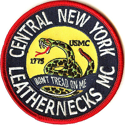 Central New York Leathernecks MC Patch