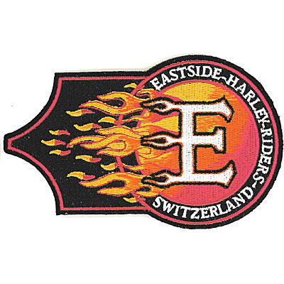 Eastside Harley Rides Switzerland Patch