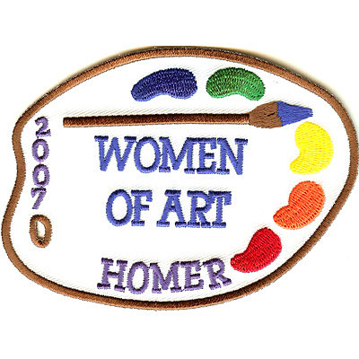 Women of Art Organization Patch
