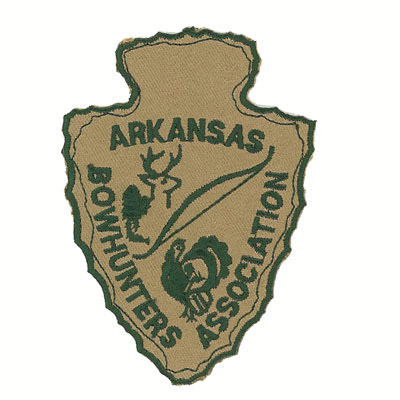 Arkansas Bowhunters Association Patch