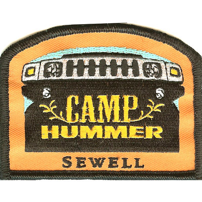 Camp Hummer Sewell Patch