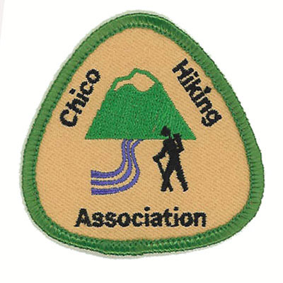 Chico Hiking Association Patch