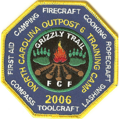 North Carolina Outpost 6 Training Camp Patch