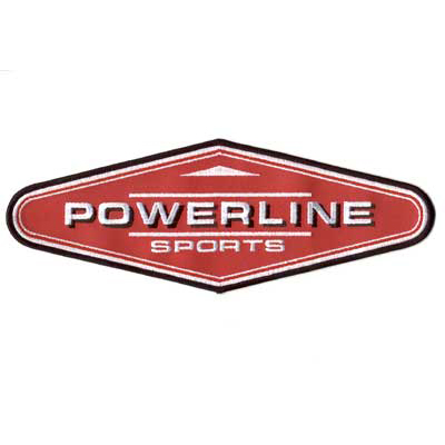 Powerline Sports Patch