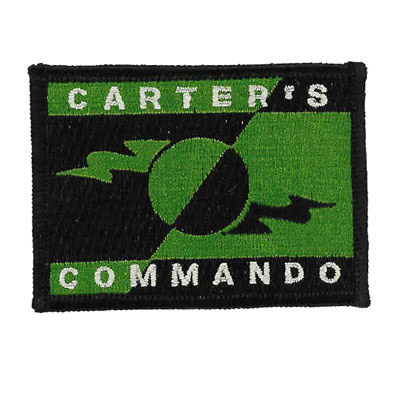 Carters Commando Patch