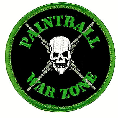 Embroidered Paintball Team Patches