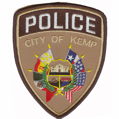 City of Kemp Police Department Patch