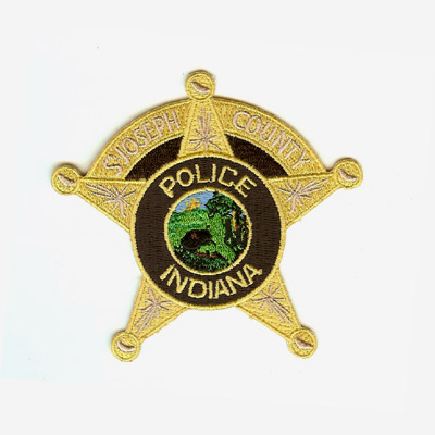 Indiana Police Department Patch