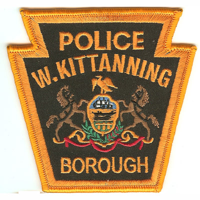 West Kittanning Police Department Patch