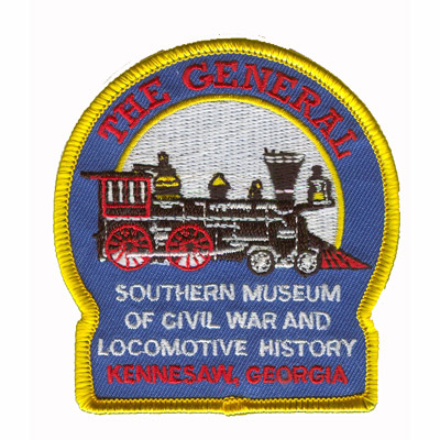Cival War and Locmotive Museum Patch