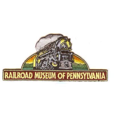 Railroad Museum of Pennsylvania Embroidered Patch