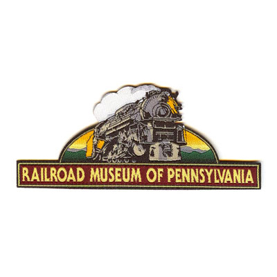 Railroad Museum of Pennsylvania Woven Patch