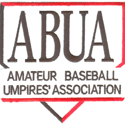 Amateur Baseball Umpires Patch