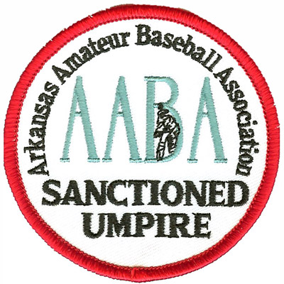 Arkansas Umpire Patch