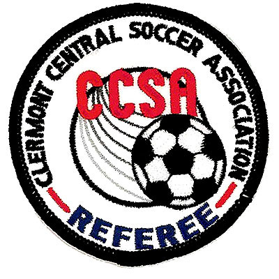 Clermont Central Soccer Association Patch
