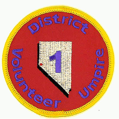 District One Volunteer Umpire Patch