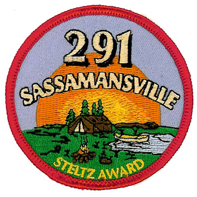 291 Sassamansville Steltz Award Patch