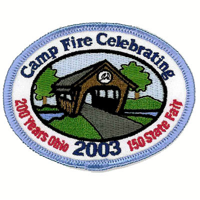 Camp Fire Celebrating Patch
