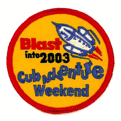 Cub Adventure Weekend Patch